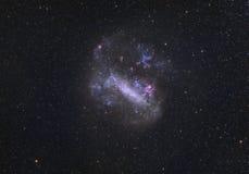 云彩大magellanic 免版税图库摄影