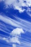 云彩天空 免版税图库摄影