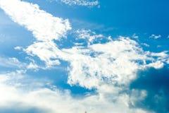 云彩天空 库存照片