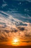 云彩形成 库存图片