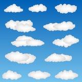 云彩形状 免版税图库摄影
