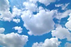 云彩是大的 图库摄影