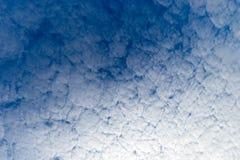 云彩样式在早晨 库存照片