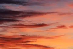 云彩样式 图库摄影