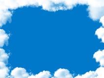 云彩框架 库存例证