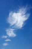 云彩模式垂直 免版税库存照片