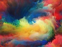 云彩油漆 库存照片