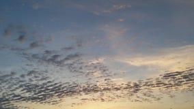 云彩波浪 库存照片