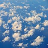 云彩浮动 库存图片