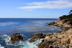 云彩海洋天空视图水 免版税图库摄影