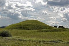 云彩牧群在天空的在神奇圆顶 免版税图库摄影
