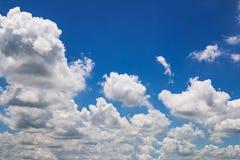 云彩白色 图库摄影
