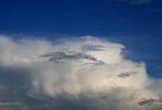 云彩白色 库存图片