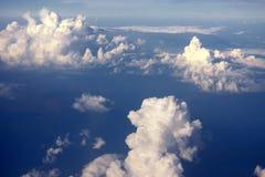 云彩的始发地 图库摄影