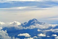 云彩的美丽的景色 图库摄影