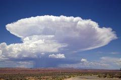 云彩积雨云形成 免版税库存照片