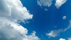 云彩移动蓝天 时间间隔 影视素材