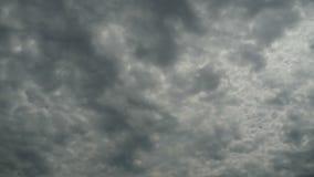 云彩移动蓝天 Timelapse 股票视频