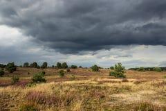 云彩聚集,风暴的 免版税图库摄影