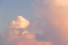 云彩背景 库存照片