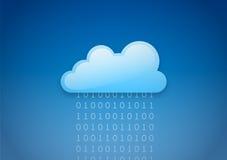 云彩计算 库存例证