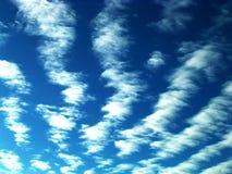 云彩透视图 库存照片