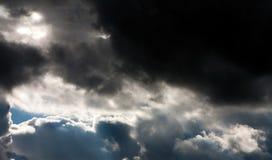 云彩风暴 图库摄影