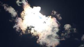云彩irisation在荷兰 免版税库存图片