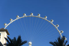 云霄飞车在拉斯维加斯, 2014年1月04日的NV 免版税库存图片