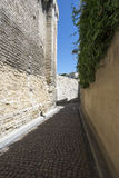云香des Escaliers Sainte安妮,阿维尼翁,法国 免版税库存照片