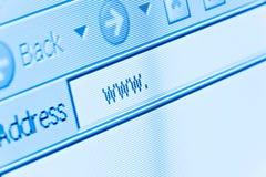 互联网万维网 免版税图库摄影