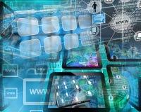 互联网世界 免版税图库摄影