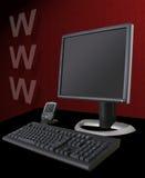 互联网主题 免版税库存照片