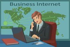 互联网事务的所有国家 向量例证