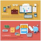 互联网企业和付款概念象 库存例证