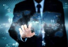 互联网企业技术 免版税库存照片