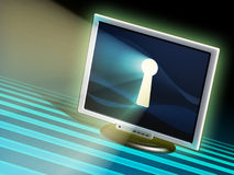 互联网保密性 免版税库存照片