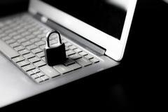 互联网和数据保密 库存图片