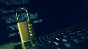 互联网和计算机安全概念 股票视频