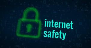 互联网安全 皇族释放例证