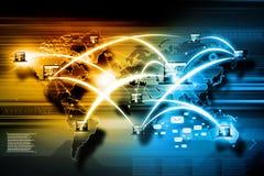 互联网技术 免版税库存照片