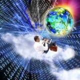互联网最新的技术 免版税图库摄影