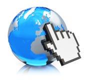 互联网概念 免版税库存照片