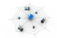 互联网概念 免版税图库摄影