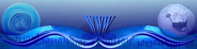 互联网移动宽世界 免版税图库摄影
