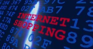 互联网购物的全球企业和e行销 影视素材