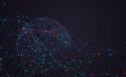 互联网连接、抽象感觉科学技术图形设计
