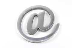 互联网邮件符号 免版税库存照片