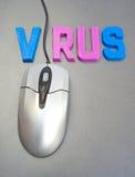 互联网需要保护病毒 免版税图库摄影