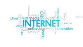 互联网,生气蓬勃的印刷术 皇族释放例证